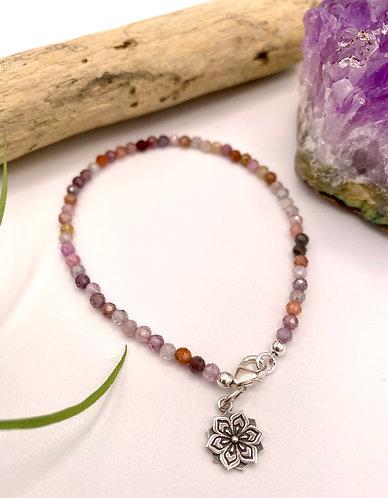 Mandala Flower Bracelet