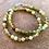 Thumbnail: Green Garnet Men's Bracelet