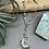Thumbnail: Quartz & Aquamarine Moon Necklace