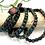 Thumbnail: Bloodstone Wrap Bracelet
