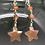 Thumbnail: Moonstone Star Earrings