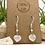 Thumbnail: Moonstone Heart Earrings