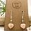 Thumbnail: Pink Opal Heart Earrings