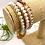 Thumbnail: Agate, Moonstone, & Quartz Wrap Bracelet