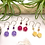 Thumbnail: Yellow Jade Daisy Earrings