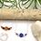 Thumbnail: Sodalite Daisy Bar Necklace