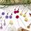 Thumbnail: Red Aventurine Flower Earrings