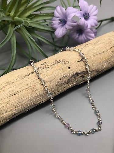 Dainty Fluorite Bracelet