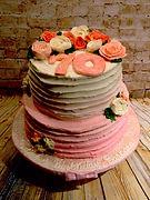 Birthday Cake, roses