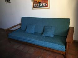 Canape déhoussable entièrement rénové