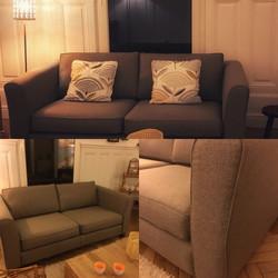 rénovation d'un canapé