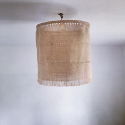suspension en toile de jute