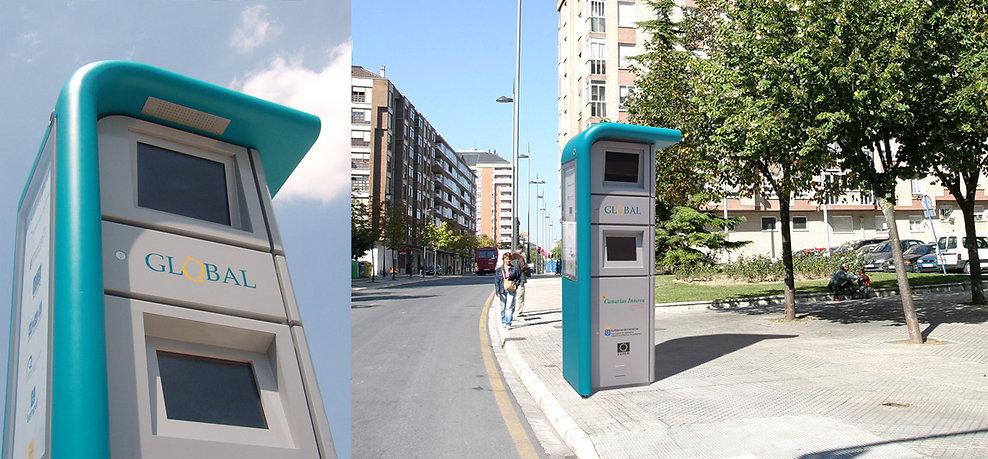 SIVR, Sistema de Información al Viajero en Ruta, es un tótem interactivo de información pública de transporte y turismo.