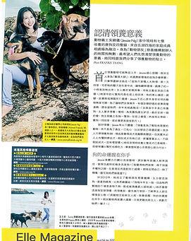 Animal Friends Elle magazine interview