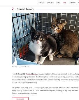 HK Tatler Animal Friends