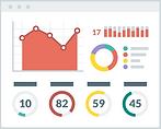 2444542 - chart dashboard graph layout p