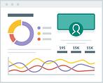2444544 - chart dashboard graph layout p