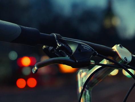 Franciscan Media: Biking Down Davidson through Waves