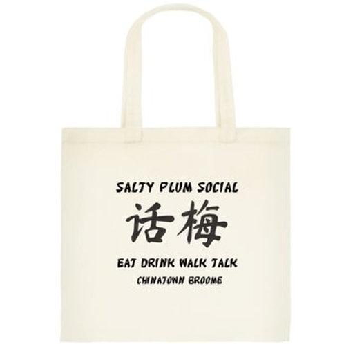 Salty Plum Social - Tote Bag
