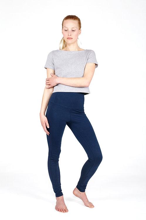 Yoga Leggings High - DEEP BLUE