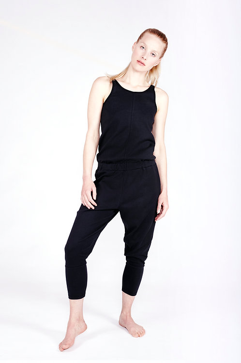 Yoga Jumpsuit Loose SOFT BLACK