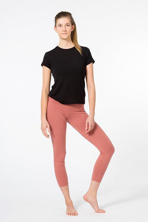 Yoga Leggings 7/8 - CANYON ROSE