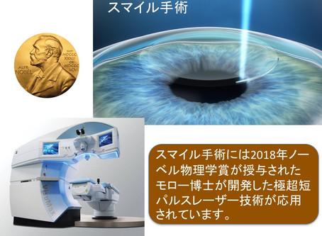 スマイル手術とノーベル賞