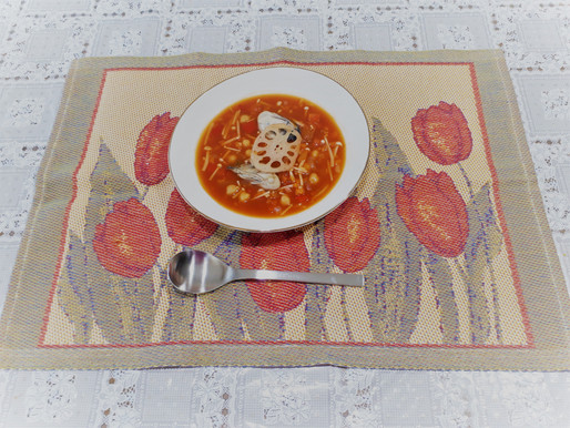 スープをちょっとおしゃれに