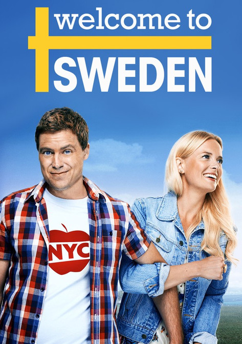 Welcome to Sweden poster. Music by Smiley Smiles