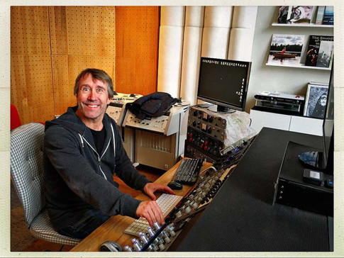 Christofer Stannow mastering at Cosmos mastering