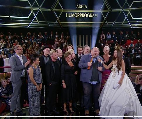 Grotesco Winner of Kristallen 2018