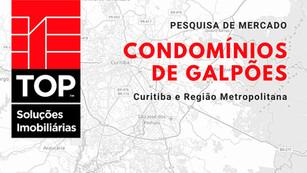 Pesquisa inédita apresenta dados sobre condomínios de galpões em Curitiba e região metropolitana