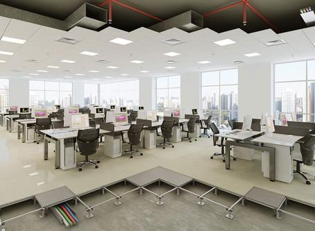 Tendências para Layouts de escritórios em 2019