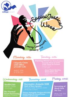 Social Justice Week 2018 at Emory University