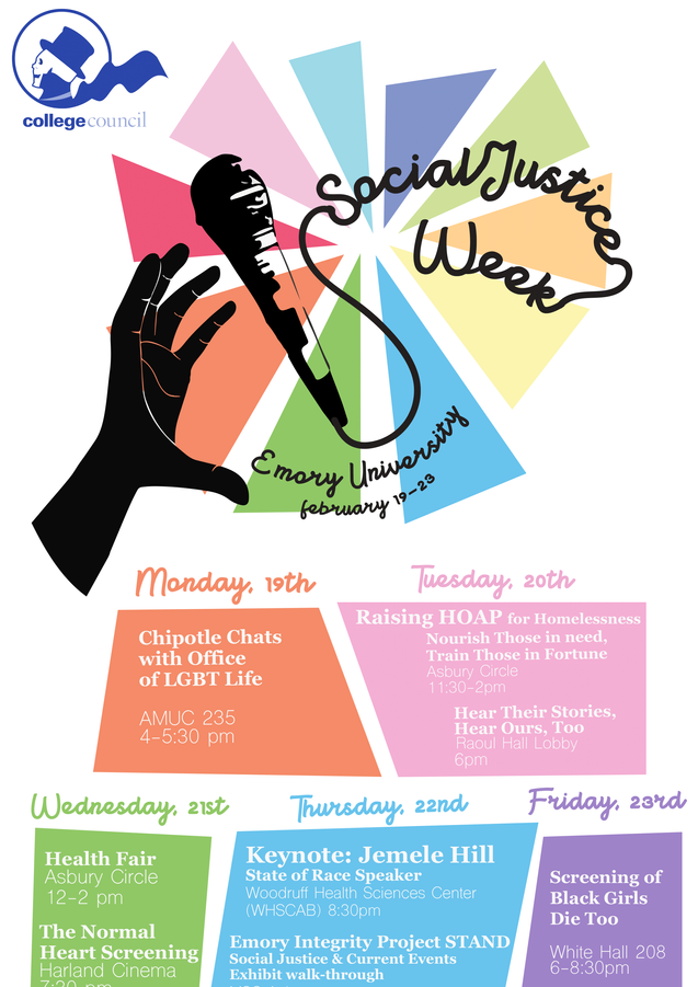 Social Justice Week 2018 at Emory University