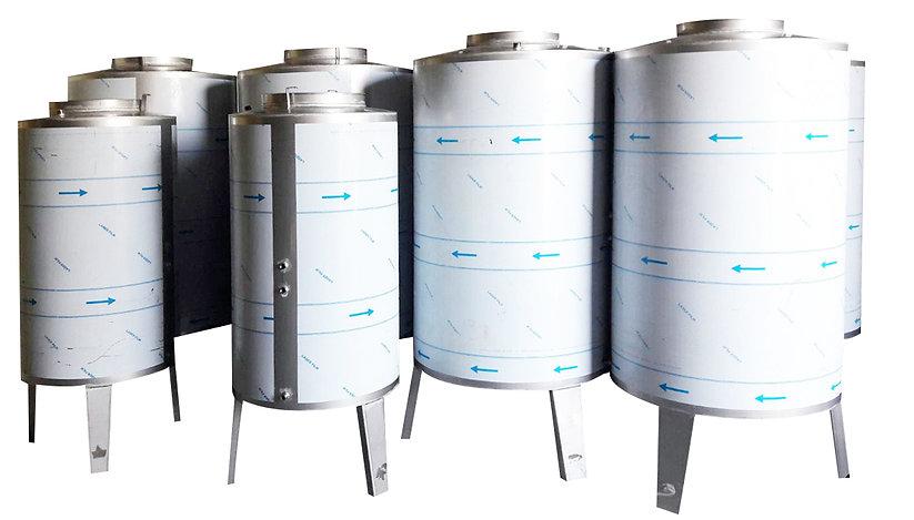 Stainless steel tanks - oil tanks - farm tanks