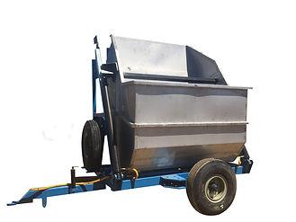 עגלת בציר - עגלה - Harvesting hydraulic trolley
