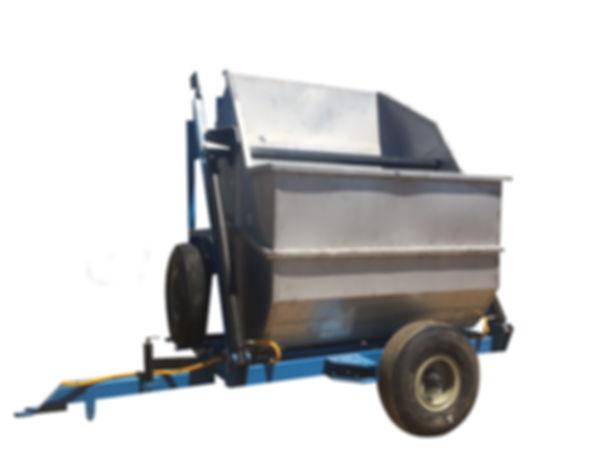 Harvesting hydraulic trolley - farm trolley