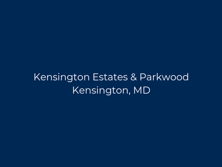 Moving to Kensington Estates / Parkwood
