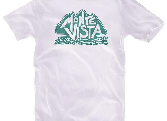 MV Standard Logo Youth T Shirt in White