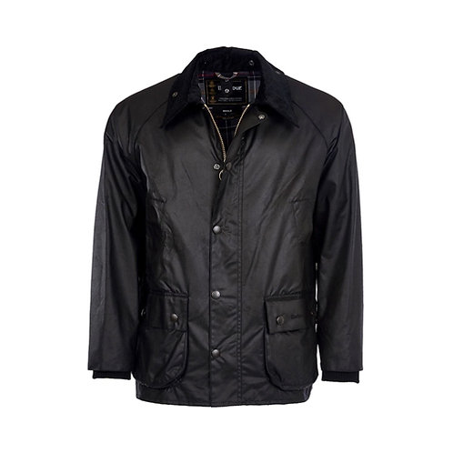 Men's Bedale Wax Jacket - Black