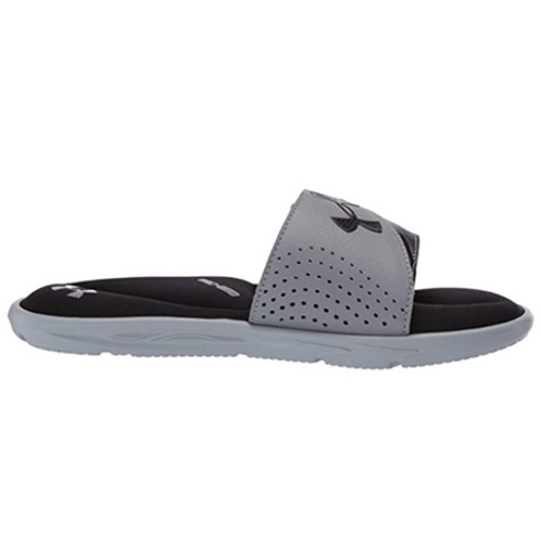 UA Ignite VI Slides_Black/Silver