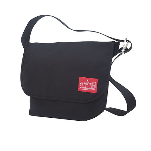 Vintage Messenger Bag (MD) - Black