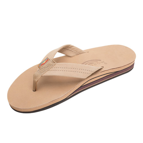 Double Layer Premier Leather with Arch Support - Sierra Brown