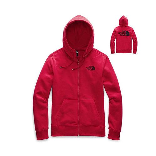 Men's Half Dome Full Zip Hoodie - Black, Red