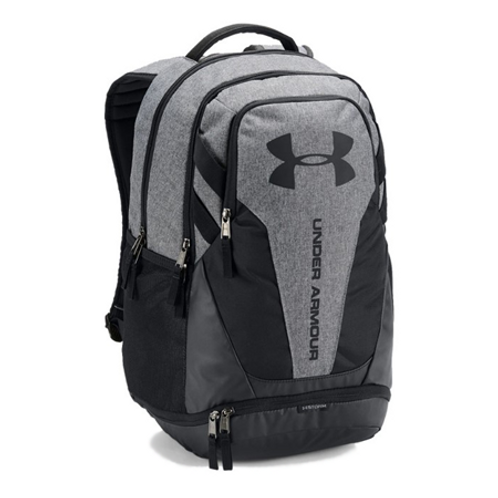 Under Armour Hustle 3.0 Backpack_Graphite Medium Heat/Black