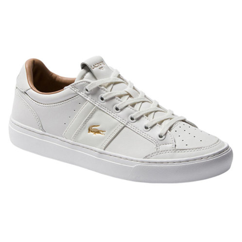 MEN'S COURTLINE 120 4 US SNEAKER - OFF WHT/GLD
