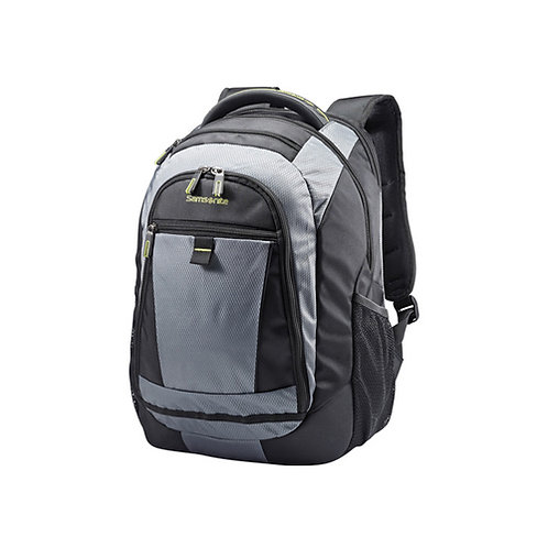 Tectonic 2 Medium Backpack - Black, Lime Green
