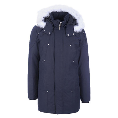 Men's Stirling Parka - Navy, Natural Fox Fur