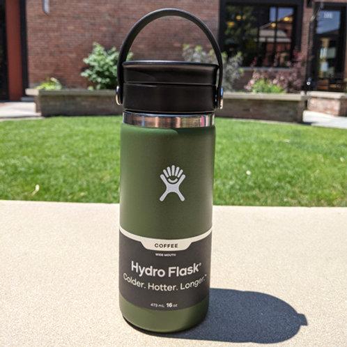 Hydro Flask 16 oz Coffee with Flex Sip™ Lid Olive